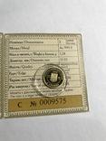 "2 грн Золото 9999 проби ""Скіфське золото "" Богиня Апи"" 2008, фото №4"