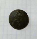 Пуга гренада с цифрой 3, фото №3