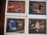 Набор открыток Чехия.Мастер Теодорих.12 шт., фото №6