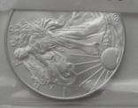 Доллар США 2008 Американский орёл Шагающая свобода, фото №5