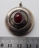 Большой кулон с камнем, фото №7