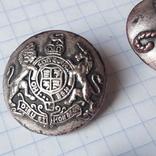 Пуговицы герб, лев( Как быть. Бог или судья) и другие Италия, фото №4