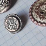 Пуговицы герб, лев( Как быть. Бог или судья) и другие Италия, фото №8