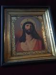 Икона Спас В терновом венке Киот, фото №2