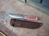 Нож охотничий номерной СССР.ПК МООР.., фото №5