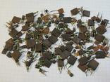 Конденсаторы коричневые 37,2 г, фото №2