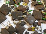 Конденсаторы коричневые 37,2 г, фото №9