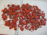 Конденсаторы красные 113,4 г, фото №2