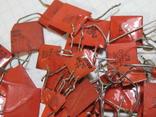 Конденсаторы красные 113,4 г, фото №8