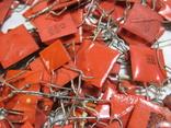 Конденсаторы красные 113,4 г, фото №9