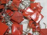 Конденсаторы красные 113,4 г, фото №12