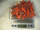Конденсаторы красные 113,4 г, фото №13