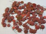 Конденсаторы красные 50,8 г, фото №2