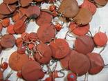 Конденсаторы красные 50,8 г, фото №6