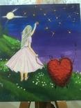 Интерьерная картина От сердца к сердцу, фото №2