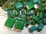 Конденсаторы зеленые 176,3 г, фото №4