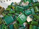 Конденсаторы зеленые 176,3 г, фото №5