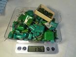 Конденсаторы зеленые 176,3 г, фото №8