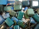 Конденсаторы синие 276,7 г, фото №4