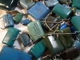 Конденсаторы синие 276,7 г, фото №9