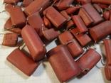 Конденсаторы красные 131,7 г, фото №3