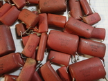 Конденсаторы красные 131,7 г, фото №7