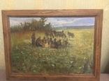 Картина Козаки на привалі, фото №8