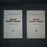 Звичаї нашого народу Етнографічний нарис в 2 томах Мюнхен 1958 Репринт 1991, фото №3