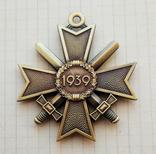 Германия. Третий Рейх. Крест Военных Заслуг в бронзе. Копия, фото №3