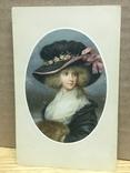 Девушка в шляпке, фото №2