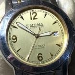 Часы Sigma . Swiss made, фото №3