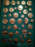 Копии золотых античных монет, фото №4