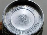 Рюмки 6 шт. олово Германия, сюжет, клеймо, фото №8