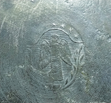 Бокал олово старинный. Германия, сюжет охота. Клеймо, фото №12