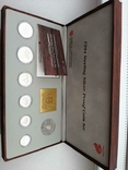 1994 Singapore Sterling Silver Proof Coin Set (1 - 5 Coin), фото №4