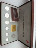 1994 Singapore Sterling Silver Proof Coin Set (1 - 5 Coin), фото №5