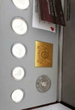 1994 Singapore Sterling Silver Proof Coin Set (1 - 5 Coin), фото №7