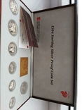 1994 Singapore Sterling Silver Proof Coin Set (1 - 5 Coin), фото №8