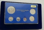 1971-1981 SINGAPORE 10TH ANNIVERSARY COMMEMORATIVE STERLING SILVER PROOF SET, фото №3