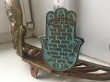 Подсвечник с табличкой на иврите, фото №9
