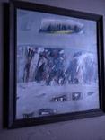 """""""Абстракция к.м. 46х40. 1996 г.  С Кириченко, фото №10"""