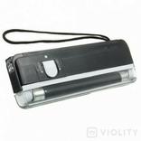Ультрафиолетовый портативный детектор валют карманный фото 2