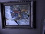 """""""Композиция"""", к.м. 40х50 1971г. Борис Лукин, фото №2"""