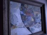 """""""Композиция"""", к.м. 40х50 1971г. Борис Лукин, фото №7"""