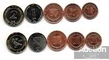 Bosnia Босния - набор 5 монет 5 10 20 50 Feninga 1 2 KM 1998 - 2004 без дефектов, фото №2