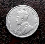 25 центов Ньюфаундленд 1917 серебро, фото №2