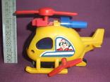 Вертолёт - заводная детская игрушка из СССР., фото №2