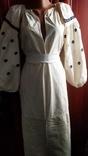 Старинная вышиванка черная нитка ( Сумщина), фото №5