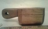 Деревянная-ступка-вес-900гр, фото №2