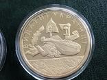Монетовидные сувениры . Княжий монетный двор. Позолота 999, фото №8